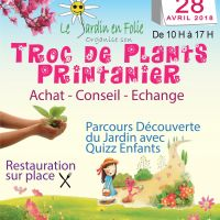 TROC DE PLANTS du JARDIN en FOLIE - ANDILLY